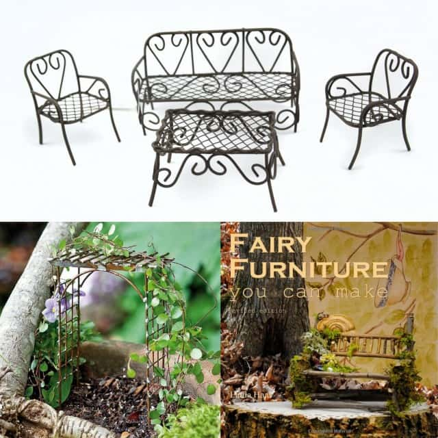 Fairy Garden Furniture Ideas