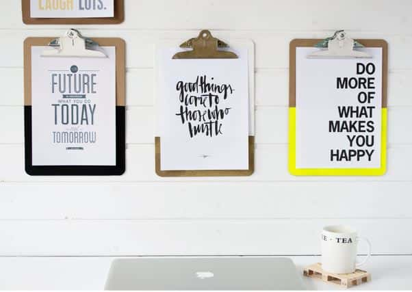 clipboard quote display