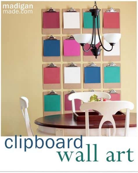 Beautiful Diy Clipboard Ideas