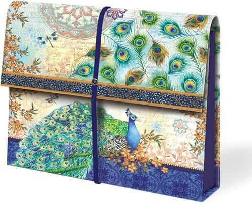 peacock accordian file