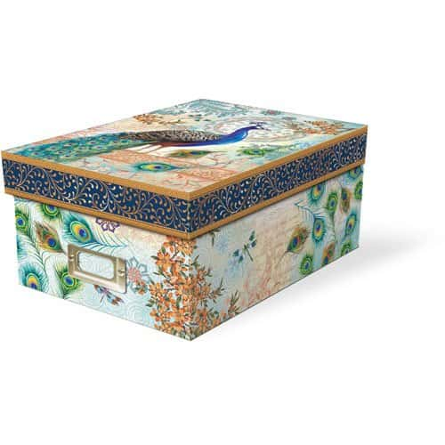 peacock storage box
