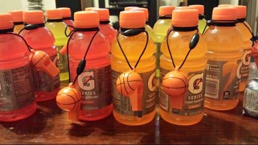 sports drinks party
