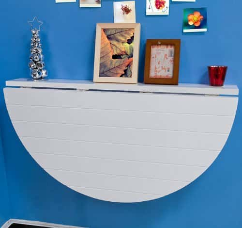 floating wall mounted desk