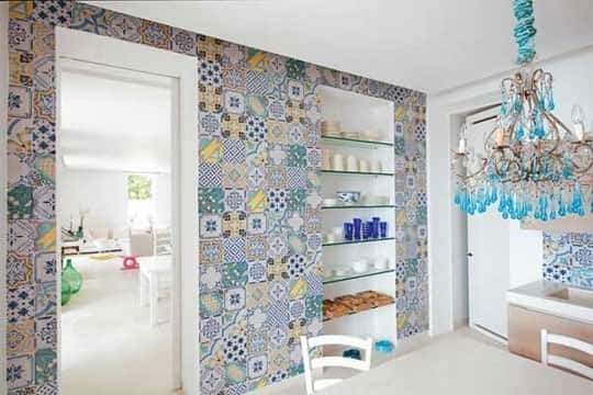 tile work mismatched