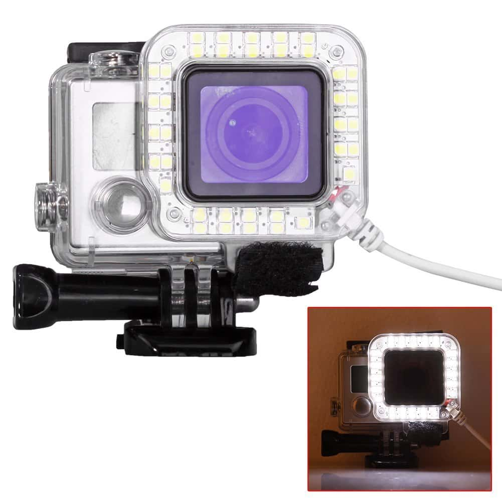Gopro night flash light