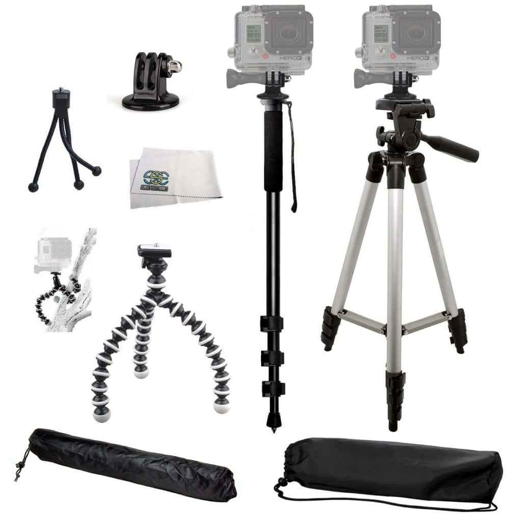 gopro tripod kit