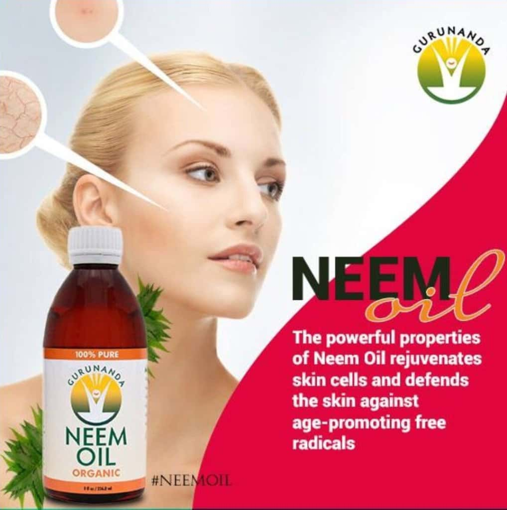 neem oil for skin