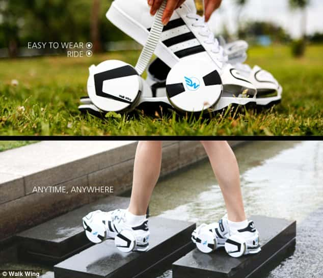 Walk Wings: The Roller Disco Shoes