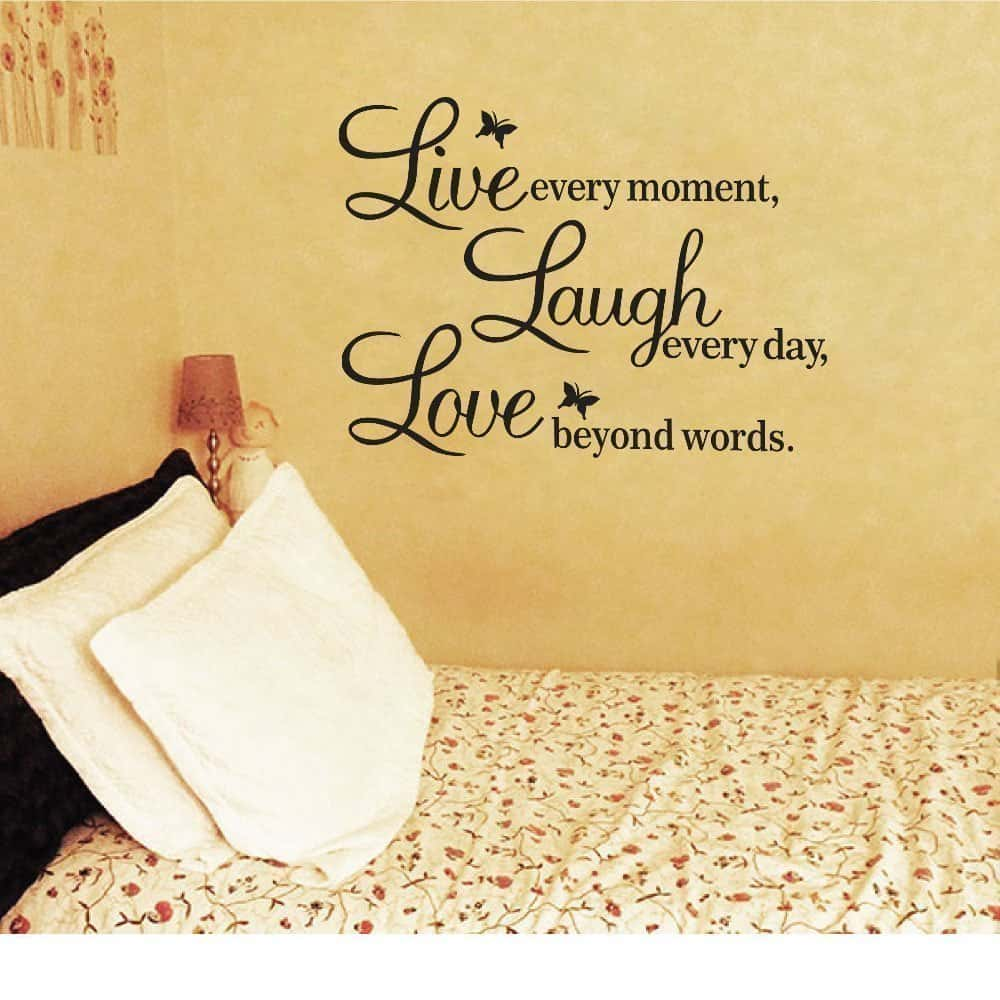 wall decal inspirational