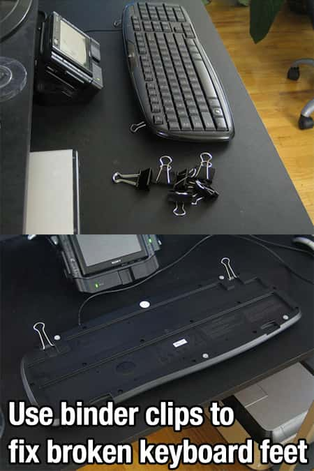 fix keyboard stand