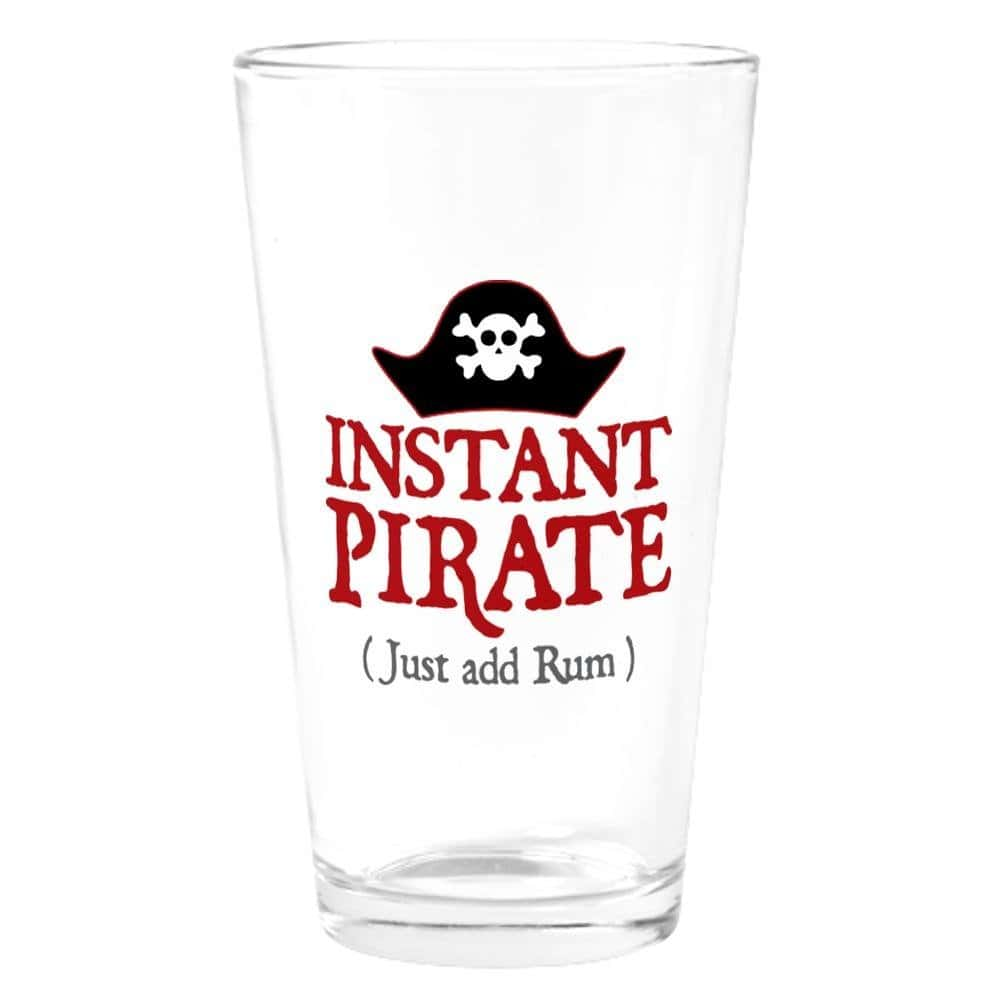pirate rum glass