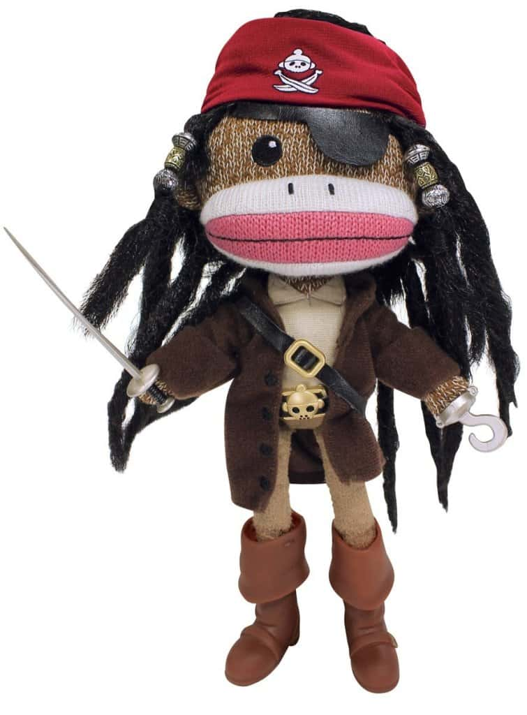 pirate sock doll