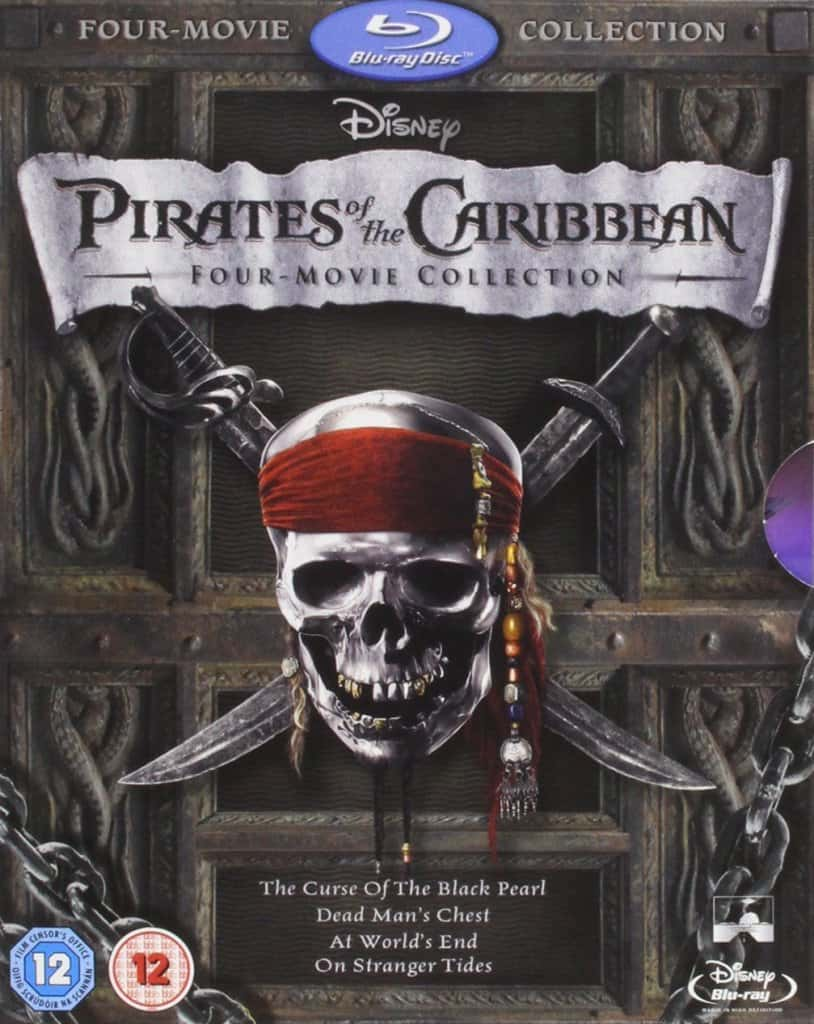 pirates of the carribbean movie collection