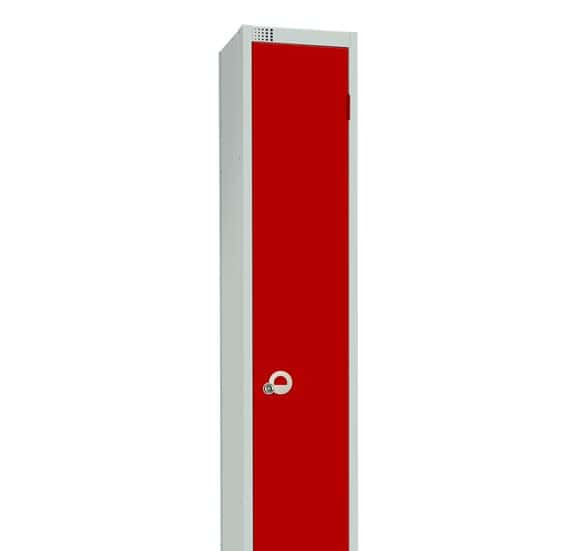 gym locker red