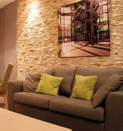 stone wall panels of Cork