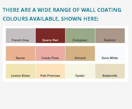 wall coating colors