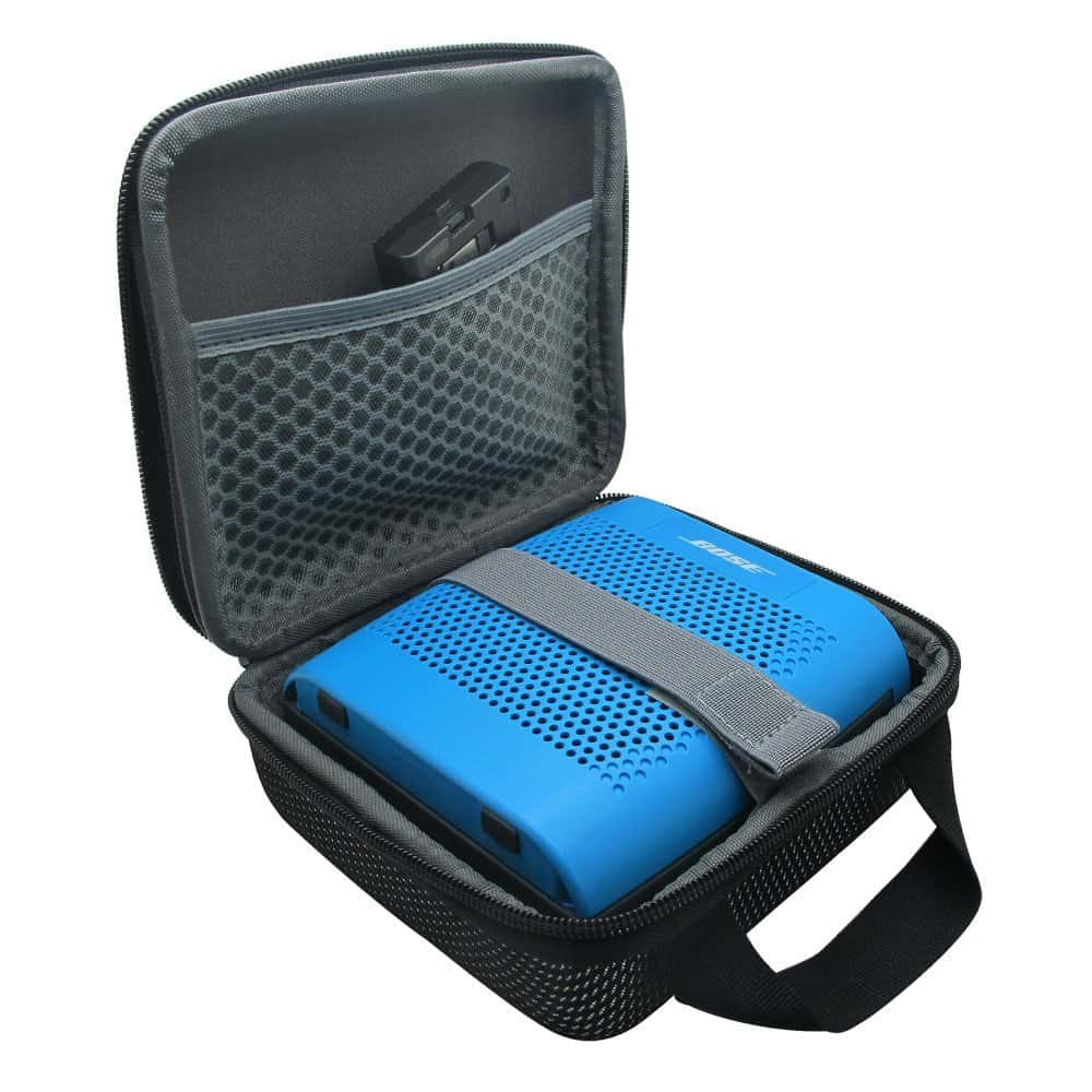 blutooth travel speaker with case