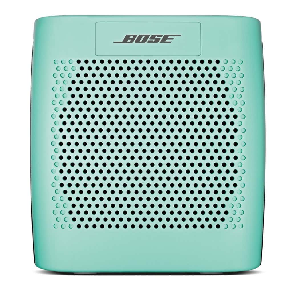green blutooth speaker