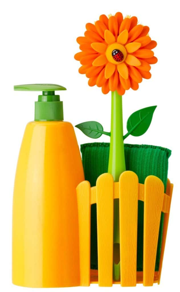flower soap dispenser