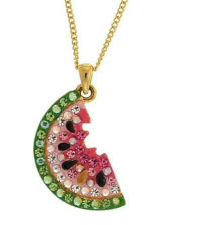 watermelon necklace