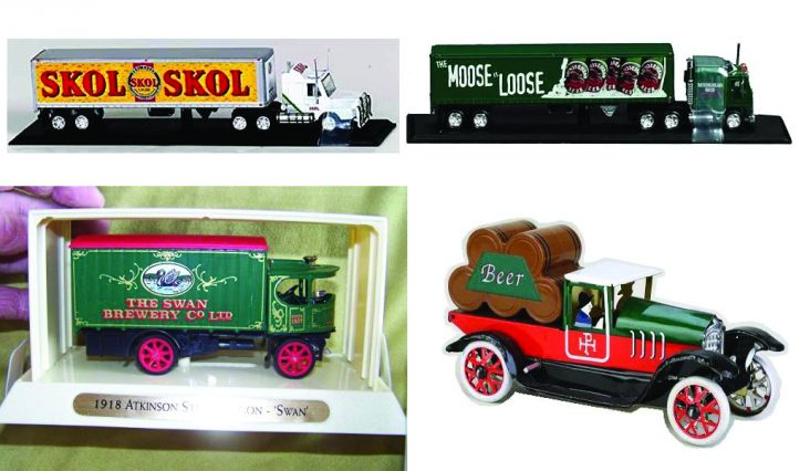 collectible beer trucks