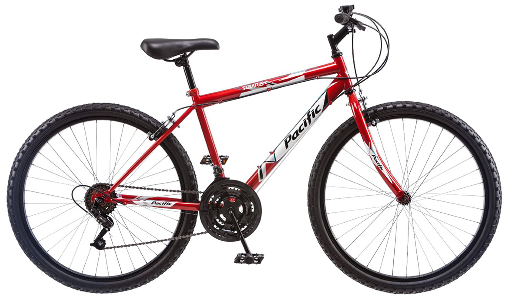 pacific-red-mountain-bike