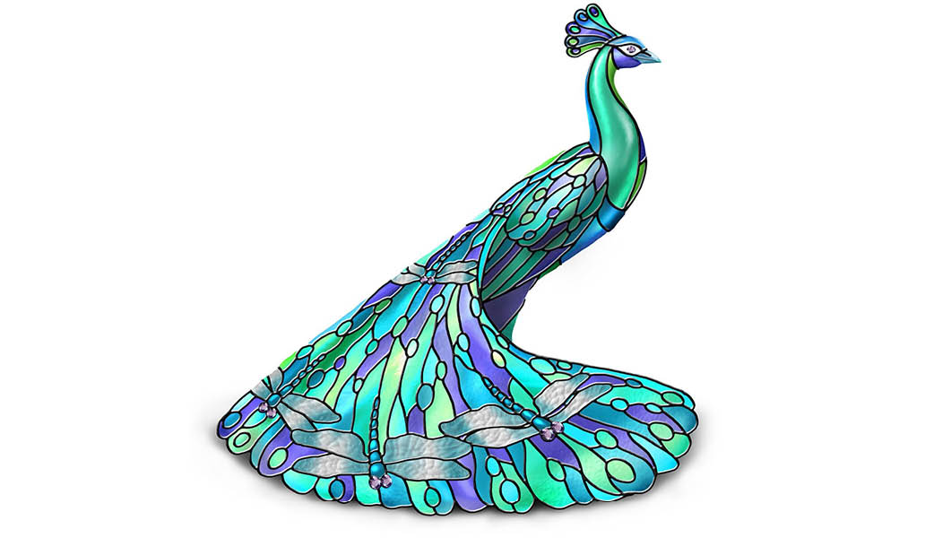 peacock-ornament