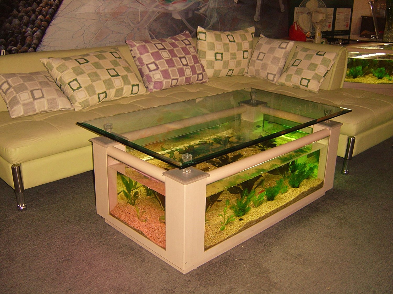 coffee-table-aquarium Ideas To Set Up An Awesome Fish Tank