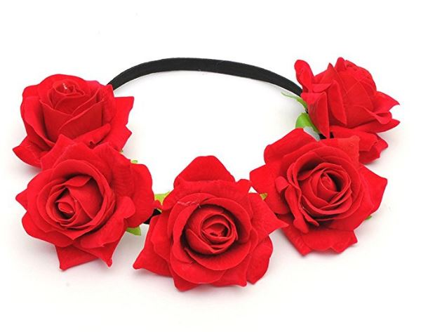 red-rose-headband