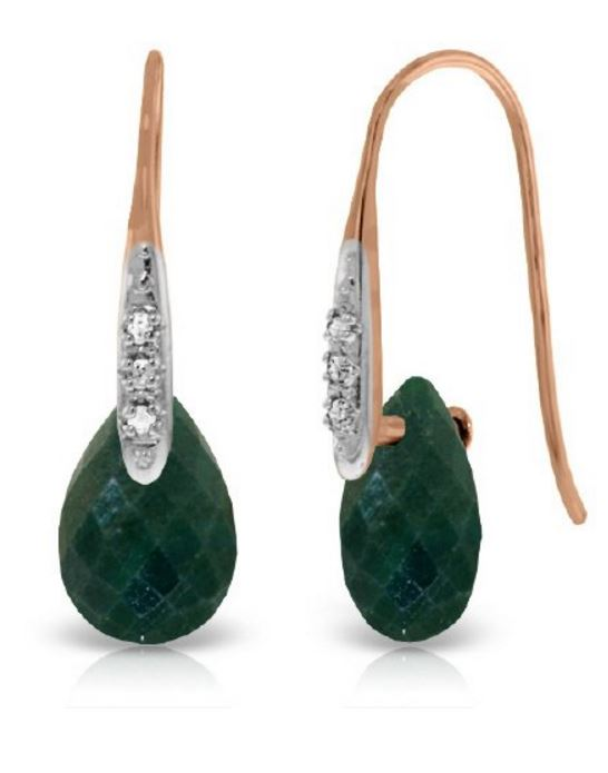 sapphire-earrings-green