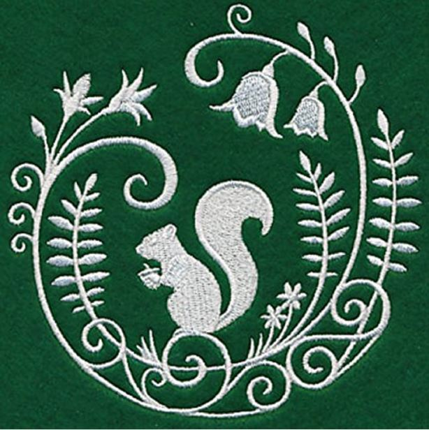 embroidered-squirrel-kitchen-towel