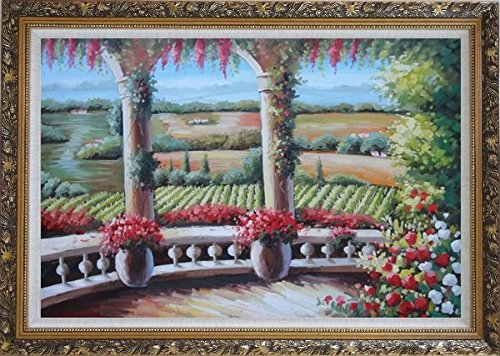 framed-vineyard-painting