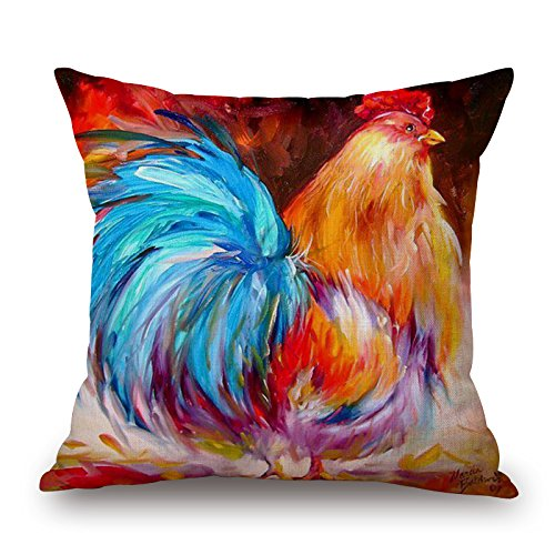 rooster-cushion