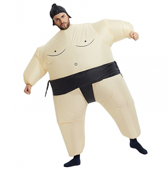 This Inflatable Sumo Suit Will Make You Win Costume Contests!