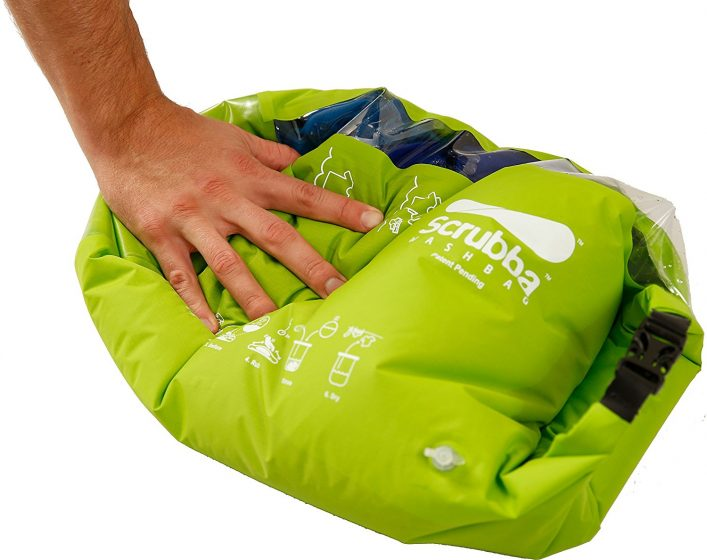 This Bag is Pocket Washing Machine for Travelers