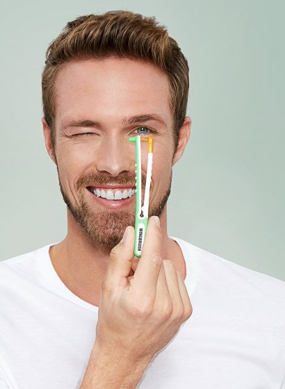 The WingBrush is a Brilliant New Way to Floss Your Teeth