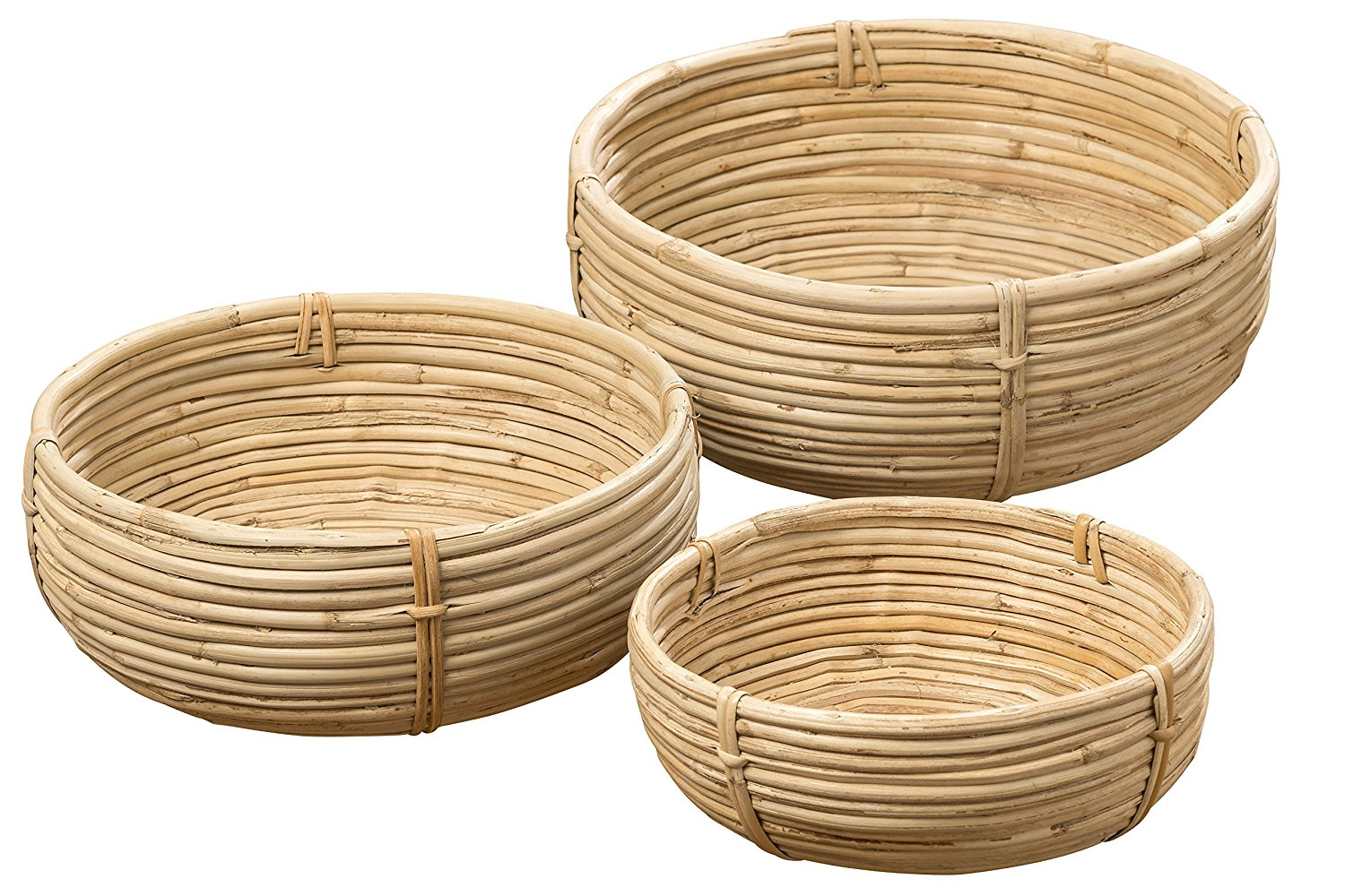 palm cane baskets