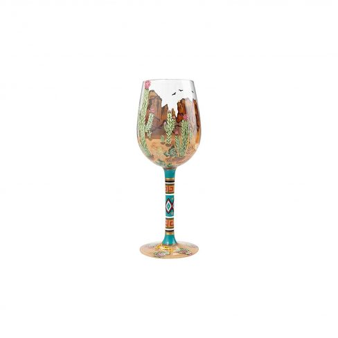 painted stemless glasses