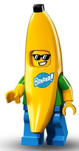 banana guy lego figure