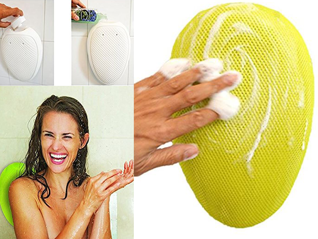 Hands Free Shower Scrubber