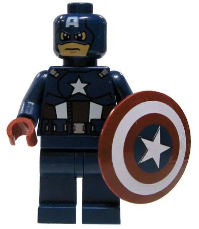 captain america LEGO figure