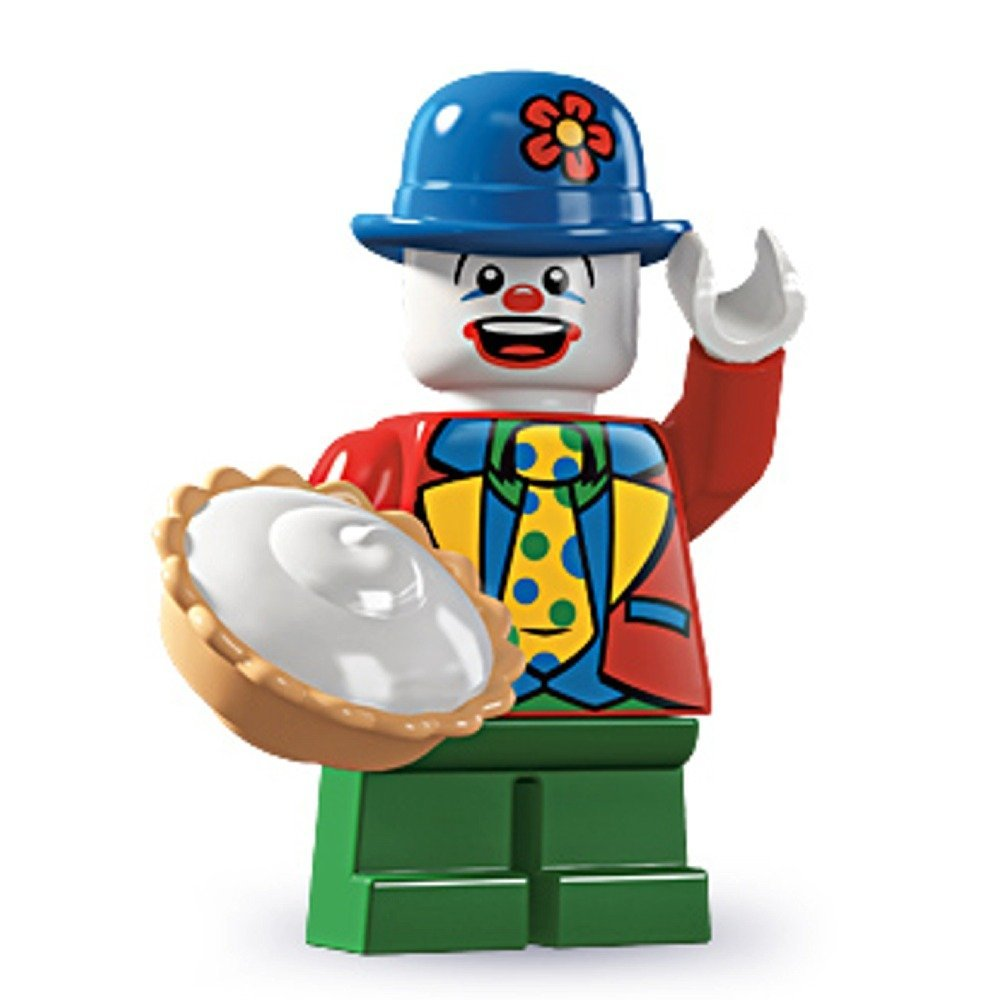 old school LEGO clown