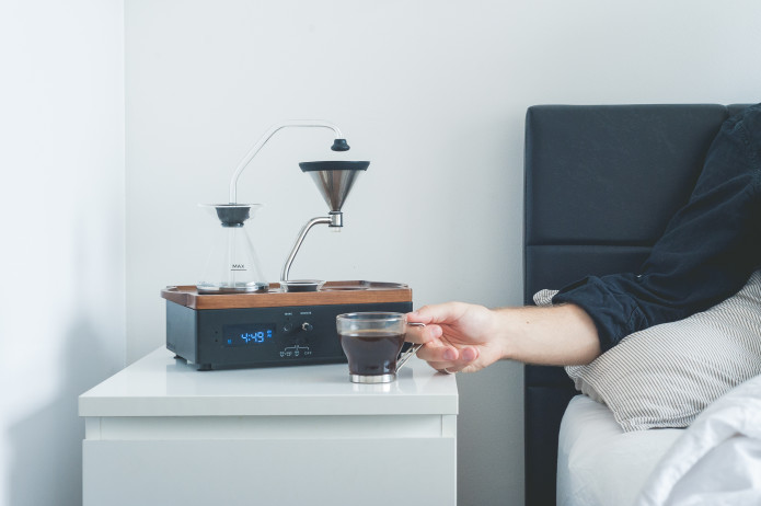 Alarm Clock That Makes Your Coffee