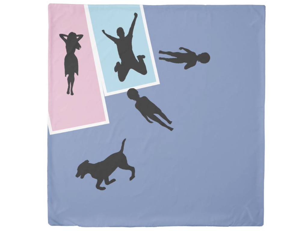 funny parenthood duvet cover