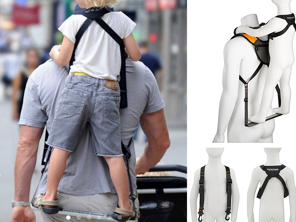 Piggyback Child Carrier For Hiking