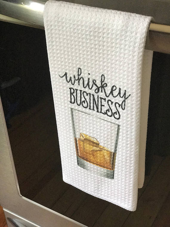 whiskey bar towel