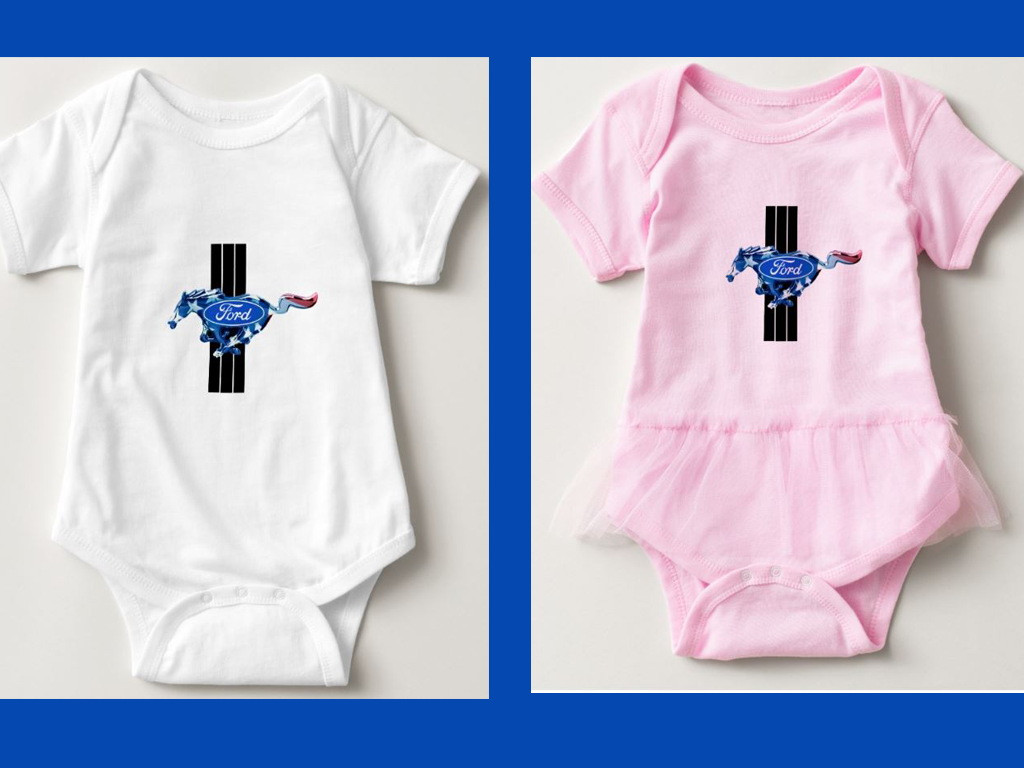 mustang shirt for baby
