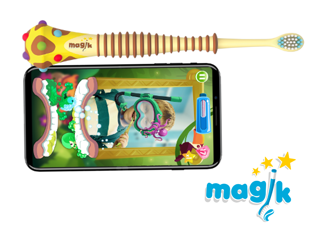 kids smart toothbrush