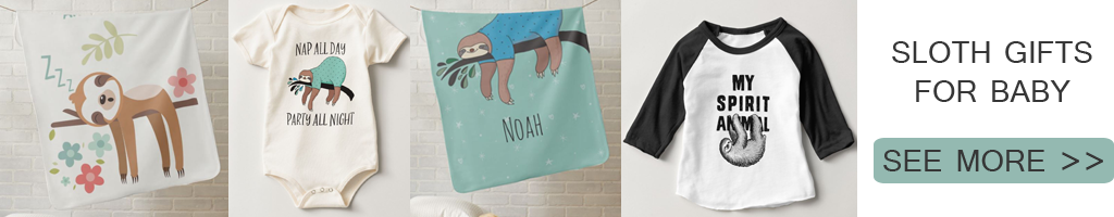 Sloth Gifts For Babies