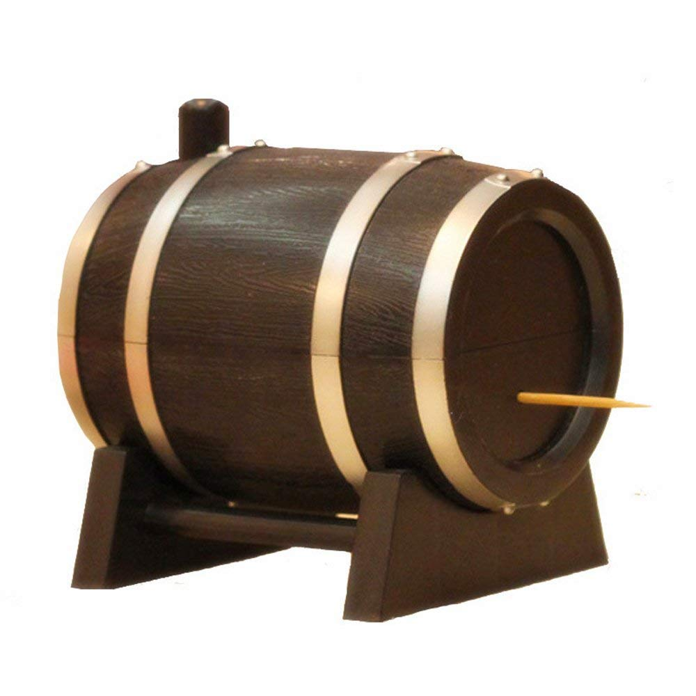 barrel toothpick holder